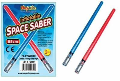 Inflatable Space Saber Star Galaxy Wars Blow up Saber Toy Party Boy Fun BLUE