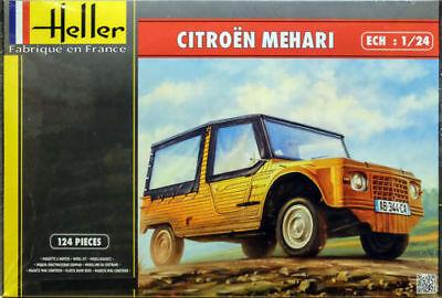 Heller Kit Citroen Mehari Version 1 Car 1:24 Model Set 80760