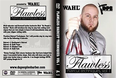 Flawless Hair Cutting Techniques Volume 1 DVD Very Simple to Learn