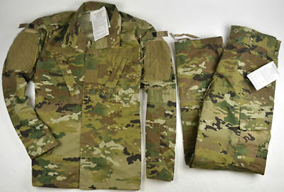 Us Army Air Force Uniform (New  US Army - Air Force OCP Uniform Coat and Trouser Small Long)