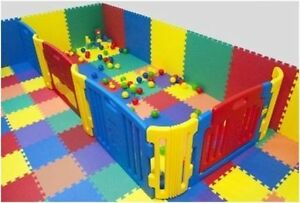 PLAY MATS EVA INTERLOCKING SOFT FOAM PLAY AREA 512sqft