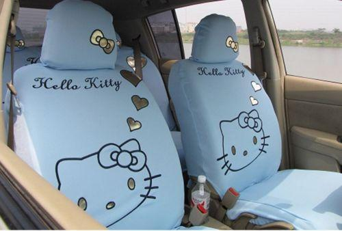 Girly Car Seat Covers: Fashion Car Seat Covers