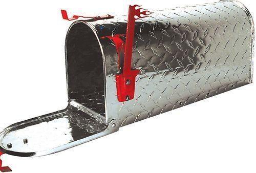 Diamond Plate Mailbox Ebay