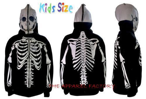 Boys skeleton hoodie