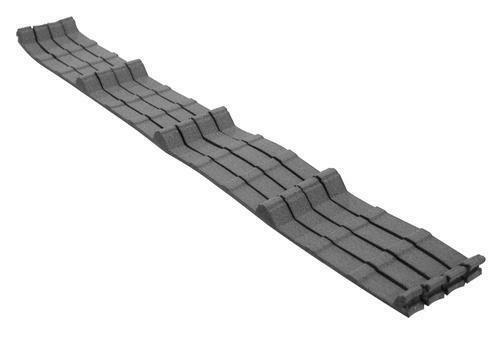 Metal Roof Eave Sealing Foam Ag Inner Closure Strip; 100 Strips W/Glue Rib