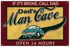 Man Cave Rustic/Primitive Decorative Plaques & Signs