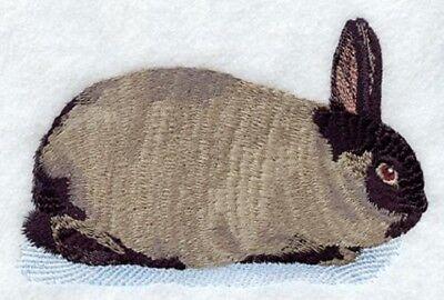 Embroidered Fleece Jacket - American Sable Rabbit M1754 Sizes S - XXL