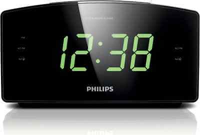 New Philips AJ3400/37 Clock Radio Digital Display FM Tunning Time Dual Alarm