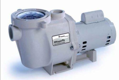 Pentair whisperflo 2 hp pool pump ebay for 2 hp pool motor