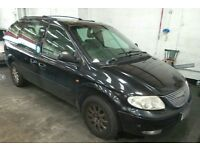Chrysler voyager 2499cc dissel ...7 seater... 53 reg plate ...Drives supperb