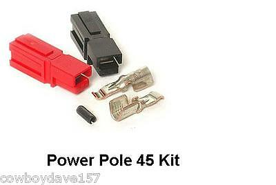 Anderson Powerpole 45 Amp Kit 10 Pairs Power Pole 45 Includes Roll Pins Sermos
