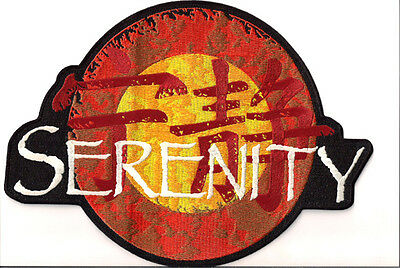 "SERENITY/FIREFLY LOGO JACKET 11"" EMBROIDERED PATCH- USA Mailed (SEPA-005)"