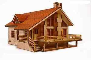 Garden House A Wooden Model Kit Youngmodeler Ebay