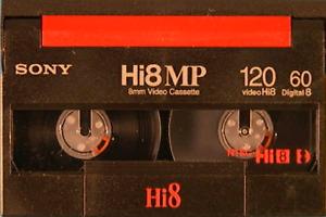 Transfert de cassette VHS et Hi-8 sur DVD