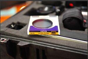 BNIB 62mm HOYA CIRCULAR POLARIZING FILTER