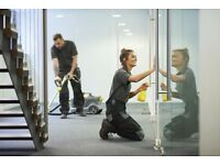 Professional office and commercial cleaning. Offices, shops, gyms, nurseries, warehouses, showrooms