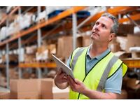 Man to work in warehouse