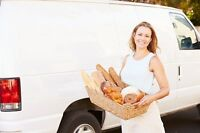 Bakery Delivery Driver (Near Hubbards; Not Halifax)
