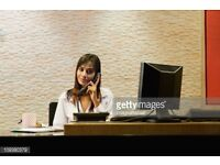 Office Receptionist Required Must Be English Speaking and Well Presented