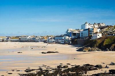 Admire the sea views in Cornwall
