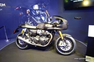 2019 Triumph Thruxton 1200 TFC Only 750 Worldwide and 20 in Cana