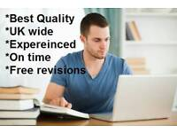 Dissertation, assignment, essay, coursework, reports UK help
