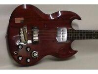 gibson eb3 bass guitar.vintage 1963