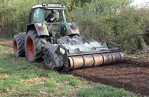 FAE PTO driven mulchers, subsoilers and stump cutters
