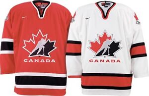 Authentic Licensed Hockey Canada Jerseys - new with tags