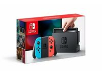 NEW Nintendo Console (with Neon Red/Neon Blue Joy-Controller)