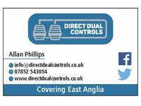 HE-MAN Dual Controls mobile fitting service covering East Anglia