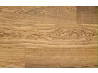 Engineered Oak Wood Flooring, 18mm width & 16/4mm depth - £29psm reduced from £45psm