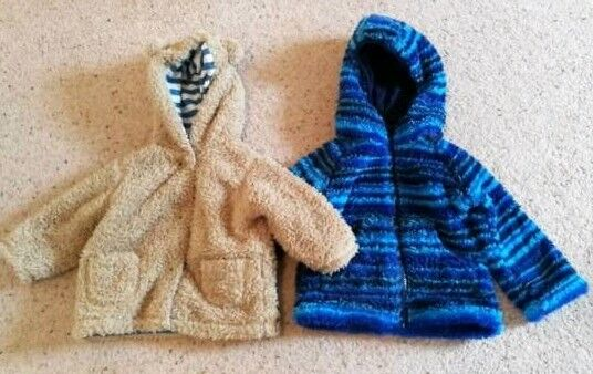 Baby boy cosy jackets 6-12 months