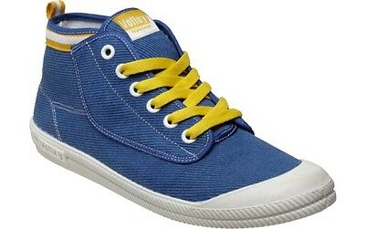 Volley Men's Imported Canvas Blue High Leap Casual Sneakers -