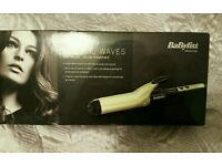 New Babyliss volume waves wide barrell