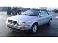 Audi 80 cabriolet 2.6 E V6 auto future classic bargain