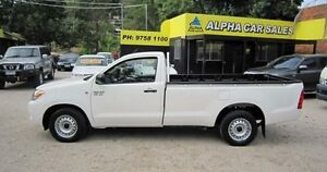 2007 Toyota Hilux GGN15R MY07 SR White 5 Speed Automatic Utility Upper Ferntree Gully Knox Area Preview