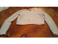 Cropped Jumper Size 10-11