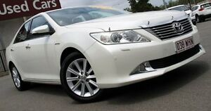 2013 Toyota Aurion GSV50R Presara White 6 Speed Sports Automatic Sedan Caboolture Caboolture Area Preview