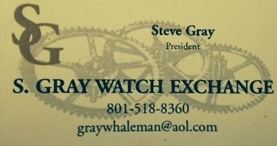 S.GRAY WATCH EXCHANGE