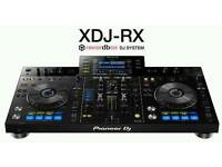 Pioneer xdj rx with decksaver boxed