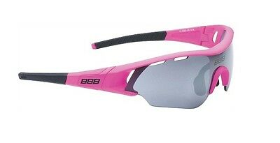 New BBB BSG-5014 Summit sunglasses with mirror lens, pink