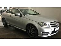 SILVER Mercedes-Benz C250 CDI AMG Sport Plus AUTO C350 FROM £77 PER WEEK!