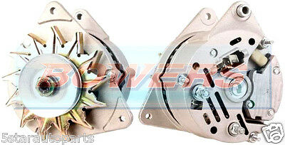 NEW ALTERNATOR 12V 75A LUCAS A127 STYLE JCB/MASSEY FERGUSON/PINTO RIGHT HAND