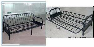 black iron futon double sofa bed frame Campsie Canterbury Area Preview