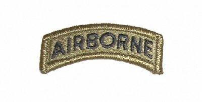Airborne Tab (US ARMY Airborne Tab patch ACU Multicam Scorpion Tan499 Uniform)