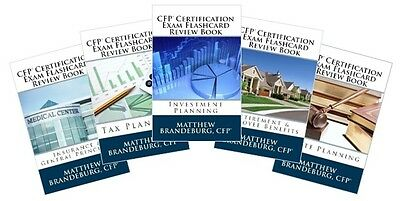 Pdfs Only    5  Cfp Certification Exam Flashcard Review Books  5 Books