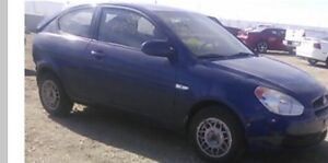 2009 Hyundai Accent for part