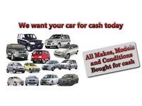 CARS 4X4S MPVS VANS CARAVANS CAMPERS ETC WANTED FOR CASH