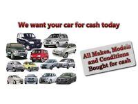 CARS 4x4s MPVs VANS CARAVANS CAMPERS ETC WANTED FOR CASH 07954802535